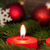 closeup of a candle with christmas decoration stock photo © nelosa