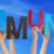 many people hands holding colorful word community blue sky stock photo © nelosa