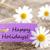 purple label with happy holidays stock photo © nelosa