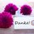 label with danke stock photo © nelosa