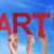 many people hands holding red straight word startup blue sky stock photo © nelosa