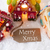 colorful gingerbread house snowflakes text merry xmas stock photo © nelosa