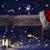 natal · assinar · luz · de · velas · seis · adeus - foto stock © nelosa