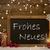 christmas cardblackboard snowflake frohes neues mean new year stock photo © nelosa