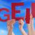 mensen · handen · houden · Rood · woord · zoals - stockfoto © nelosa