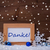 blue christmas decoration snow danke mean thanks snowflakes stock photo © nelosa