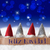 gnomes blue bokeh stars feliz navidad means merry christmas stock photo © nelosa