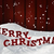 card with red letter merry christmas snow santa hat snowflakes stock photo © nelosa