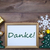 frame with christmas decoration danke mean thank you stock photo © nelosa