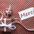 two gifts with label merci means thank you stock photo © nelosa