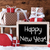 sleigh with gifts on snow text happy new year stock photo © nelosa