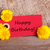 red tag with happy birthday stock photo © nelosa