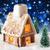 ジンジャーブレッド · 家 · クリスマス · 画像 · 冬 · 1泊 - ストックフォト © nelosa