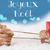 rendier · lichtblauw · vrolijk · christmas · eland · tekening - stockfoto © Nelosa