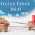 reindeer sled light blue background neues jahr means new year stock photo © nelosa