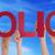 mãos · observância · muitos · vermelho · palavra - foto stock © nelosa
