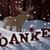 karácsonyi · üdvözlet · jávorszarvas · mikulás · kalap · hó · köszönjük - stock fotó © nelosa