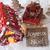 gingerbread house sled snowflakes joyeux noel means merry chr stock photo © nelosa