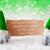 yeşil · bokeh · Yıldız · yılbaşı · etiket · metin - stok fotoğraf © nelosa