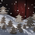 kaart · winter · landschap · witte · sneeuwvlokken · bomen - stockfoto © nelosa