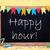 schoolbord · tekst · gelukkig · carnaval · Blackboard · Engels - stockfoto © nelosa