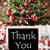 nosztalgikus · karácsonyfa · köszönjük · hópelyhek · karácsonyi · üdvözlet · évszakok - stock fotó © nelosa