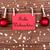 Rood · tag · vrolijk · christmas · witte · textuur - stockfoto © nelosa