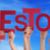 people hands holding red word milestone blue sky stock photo © nelosa