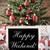 nostálgico · árvore · de · natal · presentes · flocos · de · neve · presentes - foto stock © nelosa