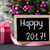 tree with gifts bokeh text happy 2017 stock photo © nelosa