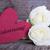 rosado · branco · etiqueta · dia · dos · namorados · flores · primavera - foto stock © nelosa