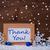 blue christmas decoration snow thank you snowflakes stock photo © nelosa