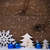 mavi · Noel · beyaz · dizayn · cam - stok fotoğraf © nelosa