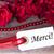 belo · rosa · vermelha · gratidão · branco · mulher · flores - foto stock © nelosa