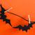 halloween · decoratie · bat · opknoping · scary · zwarte - stockfoto © nelosa