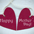 two red hearts with happy mothers day stock photo © nelosa