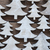 close up of christmas trees on wooden background stock photo © nelosa