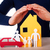 hands protecting house family and car stock photo © nelosa