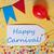 partij · label · confetti · ballon · gelukkig · carnaval - stockfoto © nelosa