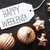 bronze christmas tree balls text happy weekend stock photo © nelosa
