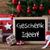 ностальгический · рождественская · елка · подарок · наконечник · доске - Сток-фото © nelosa