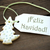 Рождества · испанский · слов · веселый · Label - Сток-фото © nelosa