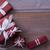 presenteert · Rood · witte · inpakpapier · christmas · sterren - stockfoto © nelosa