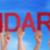 kezek · tart · piros · egyenes · szó · támogatás - stock fotó © nelosa