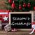 colorful christmas tree text seasons greetings stock photo © nelosa