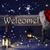 Рождества · знак · искусственное · освещение · Hat · приветствую - Сток-фото © nelosa