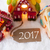 colorful gingerbread house snow text 2017 stock photo © nelosa