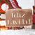 gingerbread house with sled snowflakes feliz navidad means merry christmas stock photo © nelosa