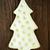 noel · ağacı · kurabiye · ahşap · beyaz · yeşil · buzlanma - stok fotoğraf © nelosa