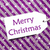 label on purple wrapping paper snowflakes text merry christmas stock photo © nelosa